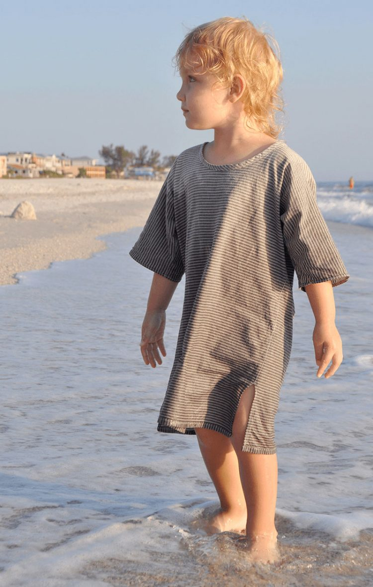 TJ Shirt cotton tunic sustainable kids clothing
