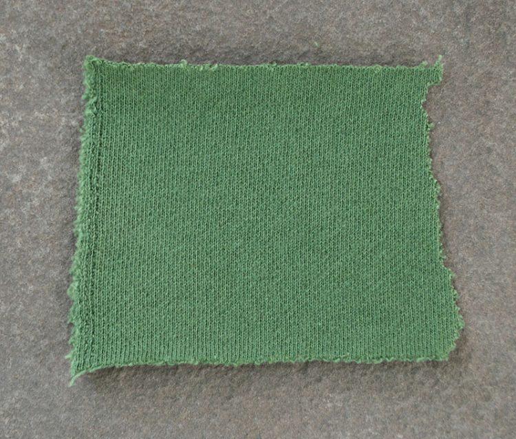 Frogpatch children's handmade cotton robe fabric swatch